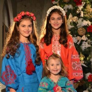 Різдвяна казка – поєднання краси, колядок і вишиванок