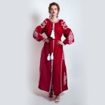 Сукня вишиванка «Малиновий смак»