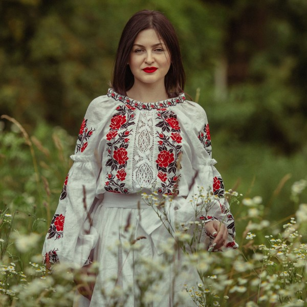 "Embroidered dress "" Eternal love "" (""Vichna liubov"")"