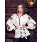 """Embroidered shirt """"Rose"""""""