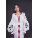 """Embroidered dress """"Winter"""""""