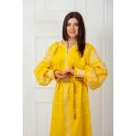 Вишиване плаття «Яскраве сонце»