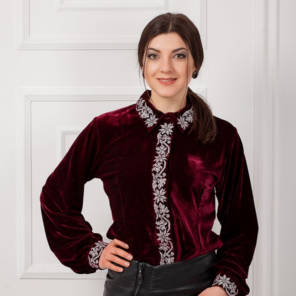 "Embroidered shirt ""Office Style"""