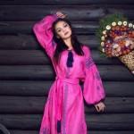 Сукня вишиванка «Рожева мрія»
