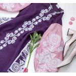 """Вишиване плаття """"Фіолетове натхнення"""""""